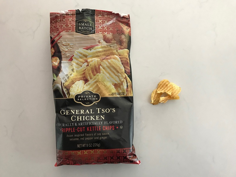Review: Private Selection General Tso's Chicken Ripple-Cut Kettle Chips