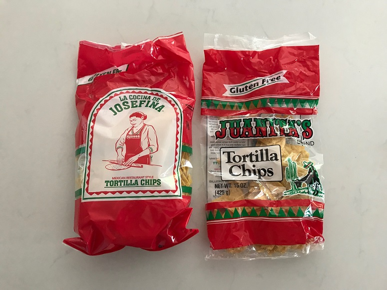 Juanita's vs La Cocina de Josefina Tortilla Chips Review