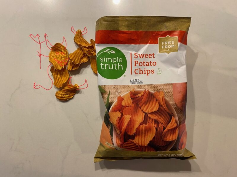 REVIEW: Simple Truth Sweet Potato Chips